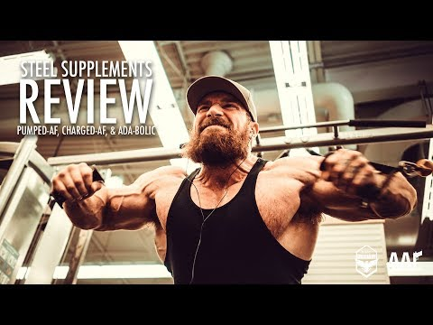 Seth Feroce Steel Supplements Review | Charged-AF, Pumped-AF, & ADA-Bolic