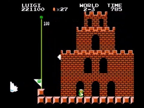 8 Level Mario Frustration 100% Luigi TAS In 7:06