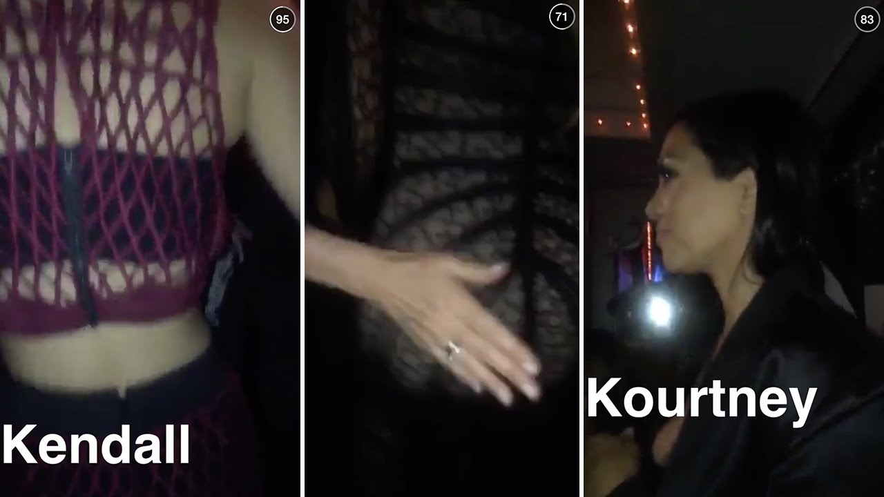 Kardashian Sisters Twerking Full Video Ft Kylie -2990