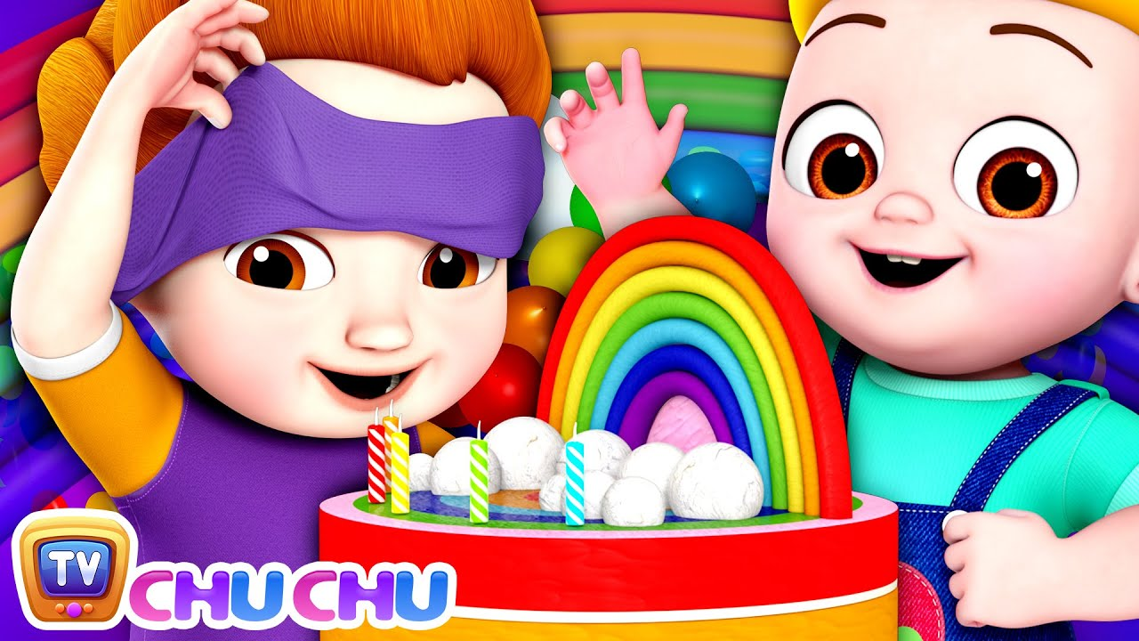 The Rainbow Cake – Color Songs for Children - ChuChu TV Baby Nursery Rhymes and Kids Songs