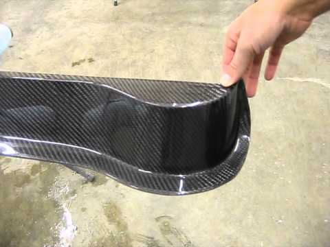 1966 1967 Chevy Ii Nova Carbon Fiber Chin Spoiler Youtube