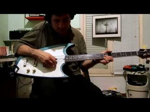 Hallmark Swept-Wing bass - test
