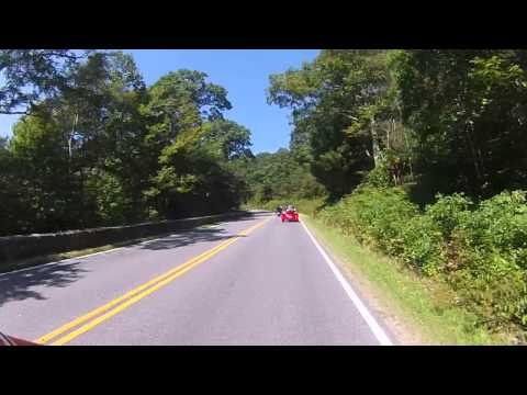 East Coast HOG Skyline Ride 2014 - Park Entrace at Rt 211 to Jewell Hollow Overlook
