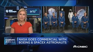 Meet the first commercial astronauts selected for the