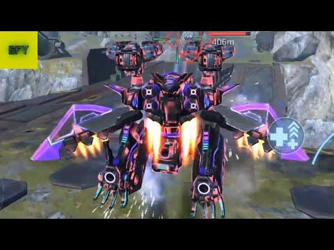 War Robots. 6v6 AO JUN BOT FLY Ep.4 - Android Gameplay HD