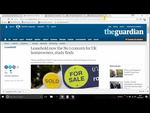 Money And The Illusion Of Wealth: 2017 UK Housing Rip Off (GMS GirdUpThyLoins2)