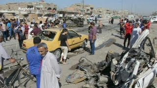 Wave Of Deadly Car Bombings Hit Baghdad