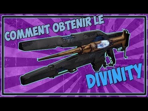 Destiny 2 - Comment Obtenir Le DIVINITÉ ! (Fusil à Rayon Exotique Secret)