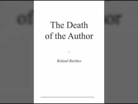 Видео Essay death author