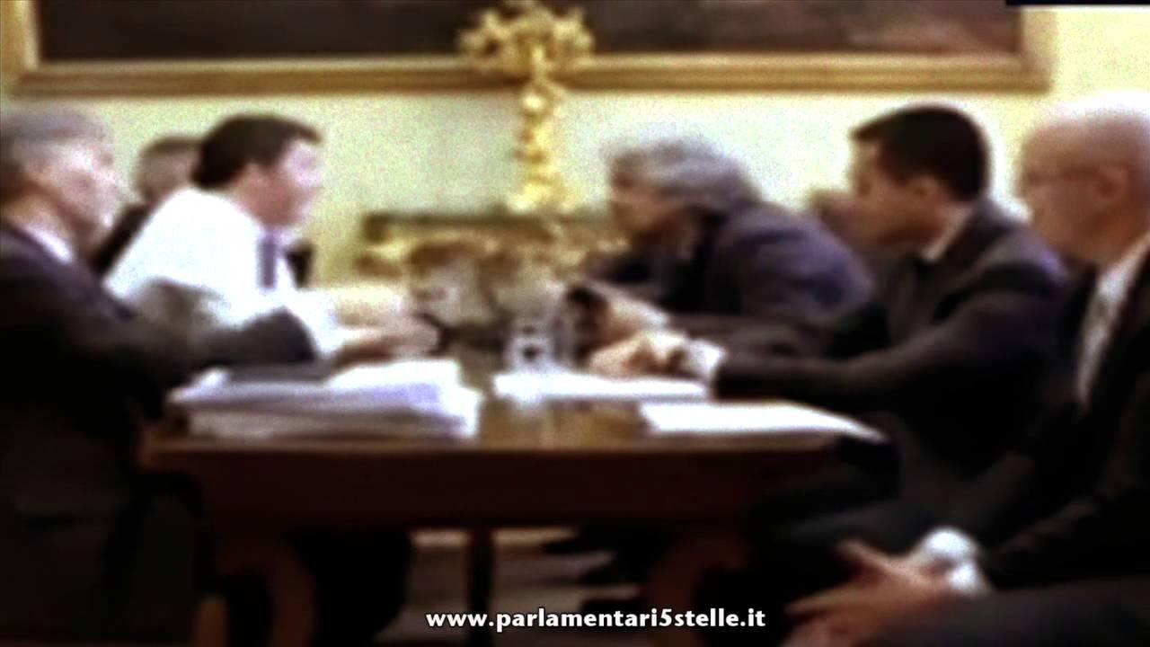 grillo vs renzi vissuto dai parlamentari 5 stelle youtube