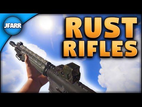 Rifles & Attachments | Rust Tutorial