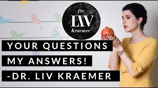 Dr  LIV is answering your questions! First Q & A (skin, skincare and skincareroutine)