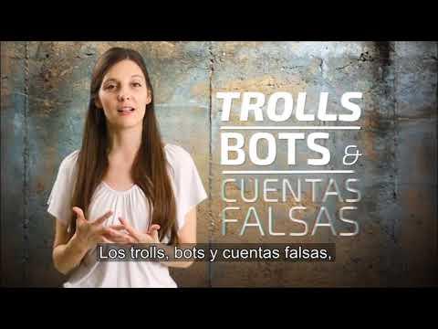 Trolls, bots y cuentas falsas en las redes sociales e internet