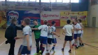 Серия пенальти. Детский турнир по мини-футболу.