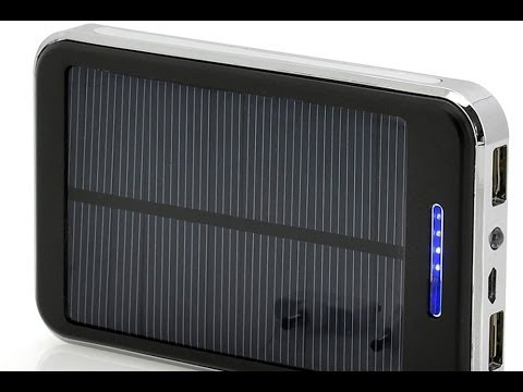 Solar Power Bank – budget 20,000mAh portable battery block in a tiny size [Review]