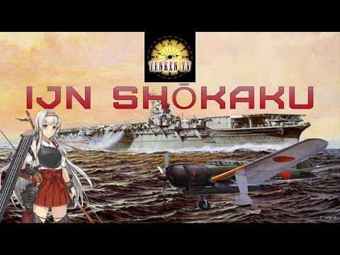 [TenkenTV] IJN Shōkaku Сбалансированный журавль.