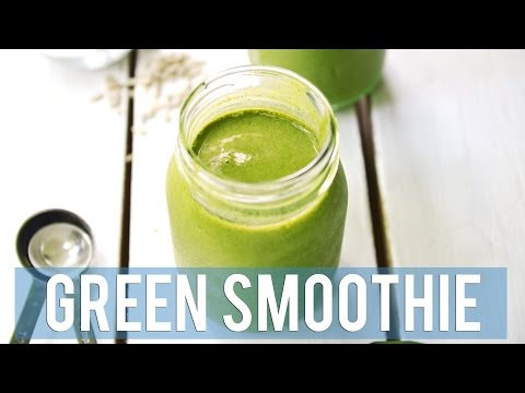 Superfood Green Smoothie | FOR HEALTH + BEAUTY
