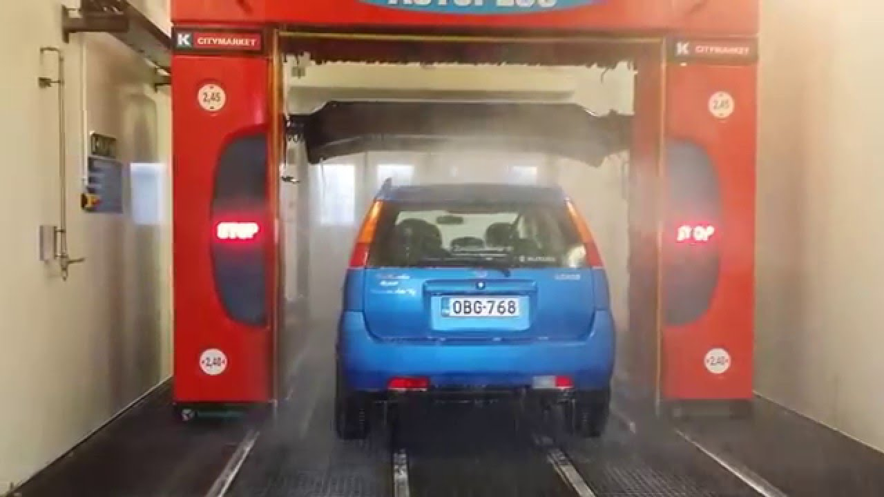 New tammermatic ultralux car wash outside view youtube solutioingenieria Gallery