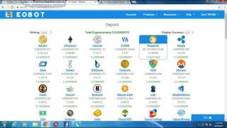 How To Mining Bitcoins Eobot.Com $379.41 Per Month Earning