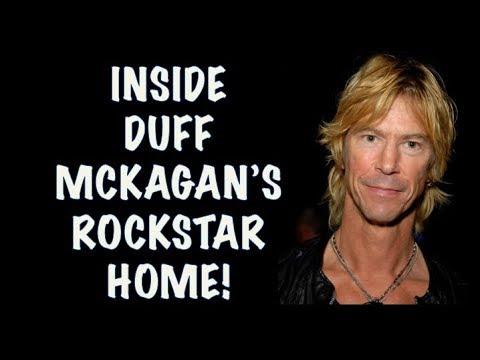 Guns N' Roses News: Inside Duff Mckagan's Rockstar Mansion
