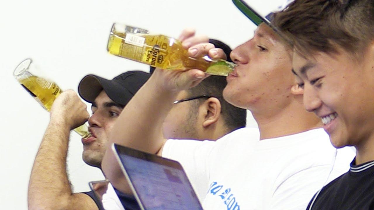 Drinking In Lectures Prank Youtube Deze prettig gestoorde living legend drinkt namelijk met gemak liters sterke drank achter elkaar. drinking in lectures prank