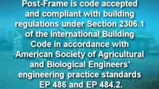 Post Frame Advantage Highlighting Perma Column