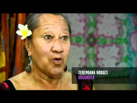 Adults in Porirua learning Cook Island language