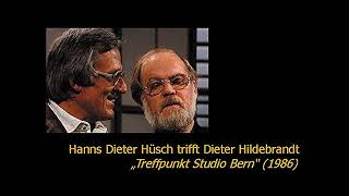 Hanns Dieter Hüsch trifft Dieter Hildebrandt (1986)