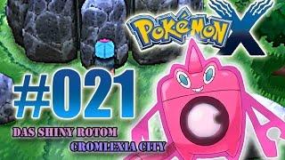 Let's Play Pokemon X - Nr.21 - Das Shiny Rotom - Cromlexia City [Deutsch] [HD]