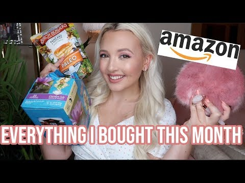 AMAZON   Everything I Bought This Month!