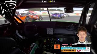 SUPER GT 2014 ONBOARD Rd8 Twin Ring Motegi 1/3 thumbnail