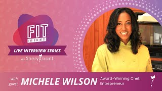 Talking Culinary Entrepreneurship with Food Network Star Michele Wilson! | FIT Live Series