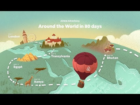 Now You Can Go Around the World in 80 Days with Airbnb