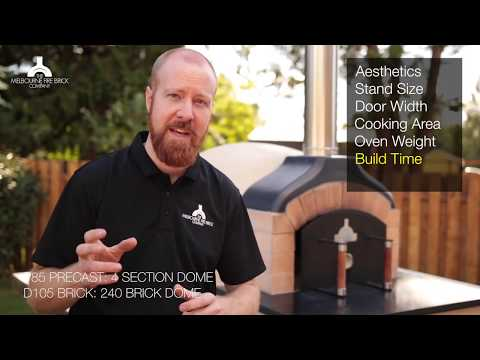 Brick or PreCast Pizza Ovens: Choosing the right Wood Fired Oven for you