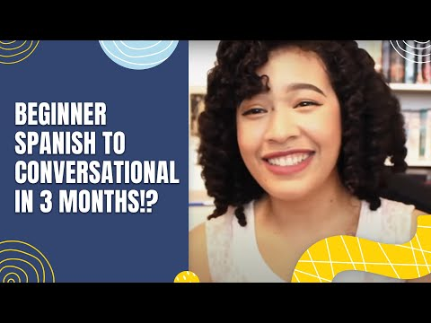 Can you learn spanish in three months
