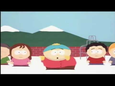 Kyle's mom is a big fat B**** but every time Cartman says B**** it gets faster