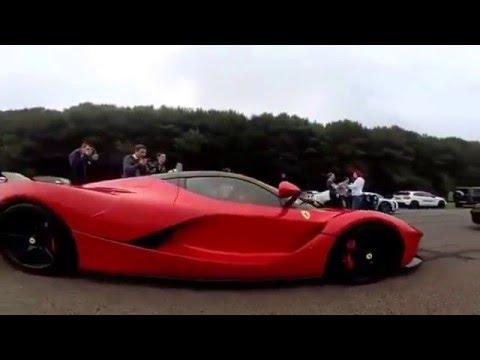 super drag race bugatti veyron vs ferrari laferrari youtube. Black Bedroom Furniture Sets. Home Design Ideas