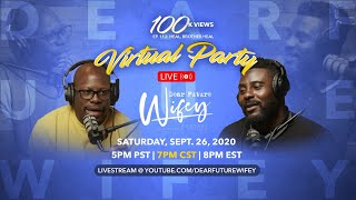 100K Virtual Party Celebration and Q\u0026A