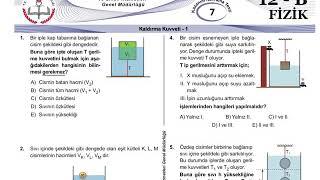 12+Mezun Fizik Meb Kazanım Testleri-7
