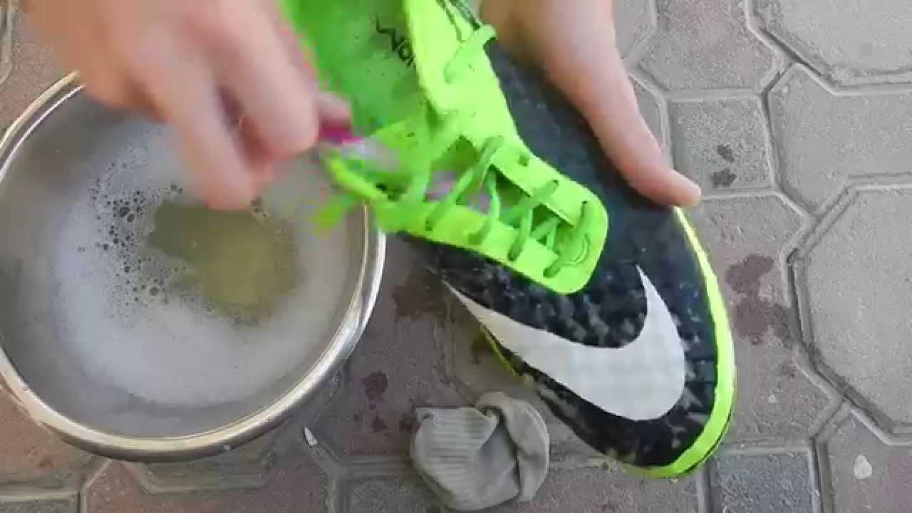 how to clean your football shoes