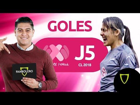 ¡¡GOLIZAS!! de Tigrillas y Tuzas - Resumen Goles Liga MX FEMENIL Jornada 5, 2018