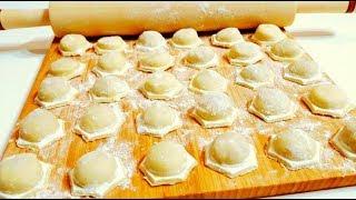 Пельмени Домашние Очень Вкусные Простой Рецепт Тесто для Пельменей dumplings recipe