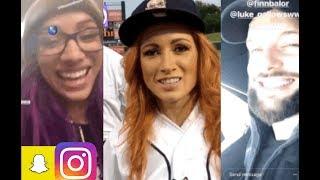 WWE WrestleMania Week! ft Becky Lynch, Sasha Banks, Finn Balor, Carmella, Sonya Deville n MORE