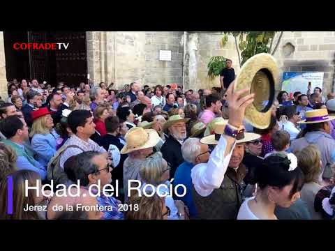 Salida  Hdad del Rocio  Jerez 2018