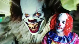 PENNYWISE, el PAYASO de IT 2 me PERSIGUE !! - Horror Clown Pennywise