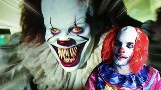 PENNYWISE, el PAYASO de IT 2 me PERSIGUE !! - Horror Clown Pennywise
