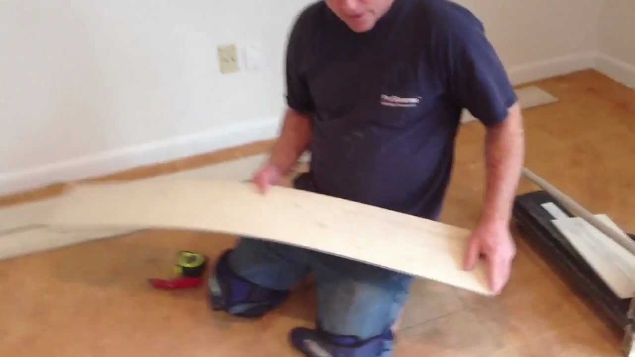 How To Install A Floating Vinyl Plank Floor YouTube