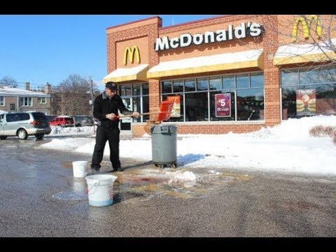 Young Pappy Mcdonalds Shooting Footage (REAL FOOTAGE) EXCLUSIVE!!