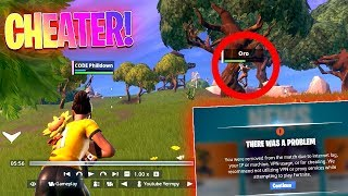 PRO Players *CHEATED* TO TRY WIN THE WORLD CUP! - Fortnite Battle Royale