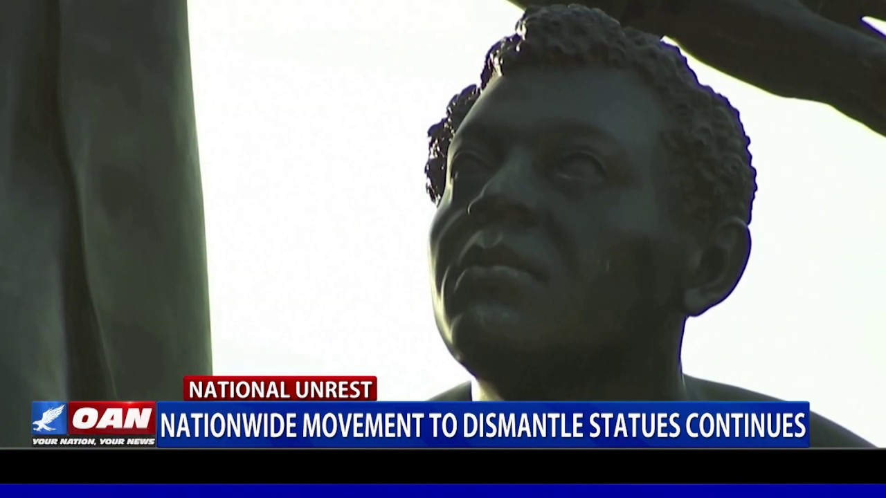 Nationwide movement to dismantle statues continues